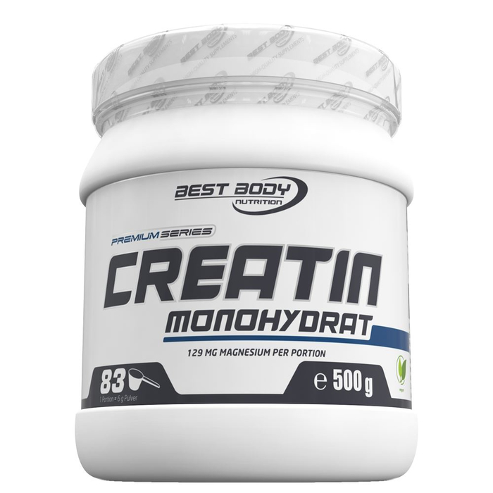 (23,98 Eur / kg) Best Body Pure Creatin Monohydrate Can Creatine Powder