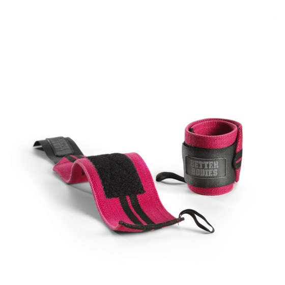 Better Bodies Womens Wrist Wraps Pink (Restposten)