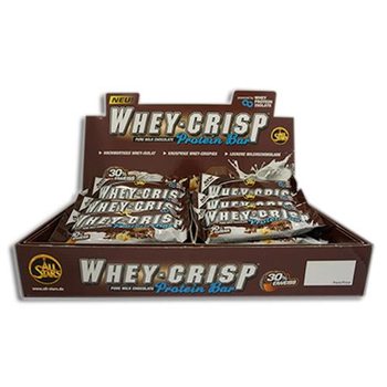 All Stars Whey-Crisp Protein Pro Bar 50g 30% Eiweiß Riegel