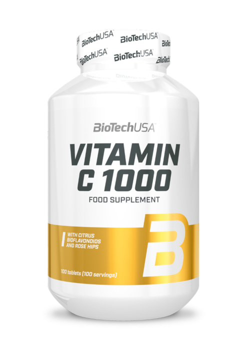 BioTech USA Vitamin C 1000 100 Tabletten