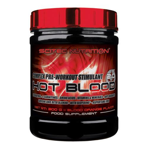 Scitec Nutrition Hot Blood 3.0 Powder 820g Dose