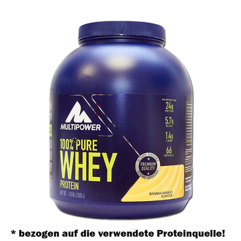 Multipower 100% Whey Protein 2000g Dose
