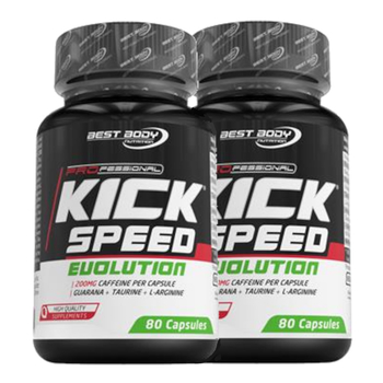 Best Body Kick Speed Evolution 2 x 80 Kapseln Dose