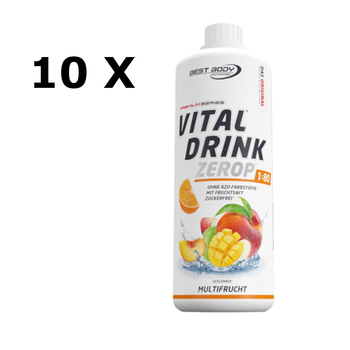Best Body Vital Drink 10 x 1000ml Flasche Mineraldrink