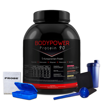Body Power Protein 90 2kg Dose + Bonus
