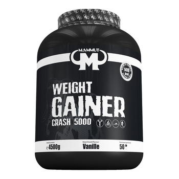 Mammut Weight Gainer Crash 5000 4500g Dose