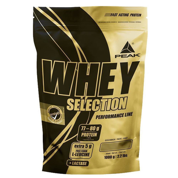 Peak Whey Selection Protein 1000g Beutel