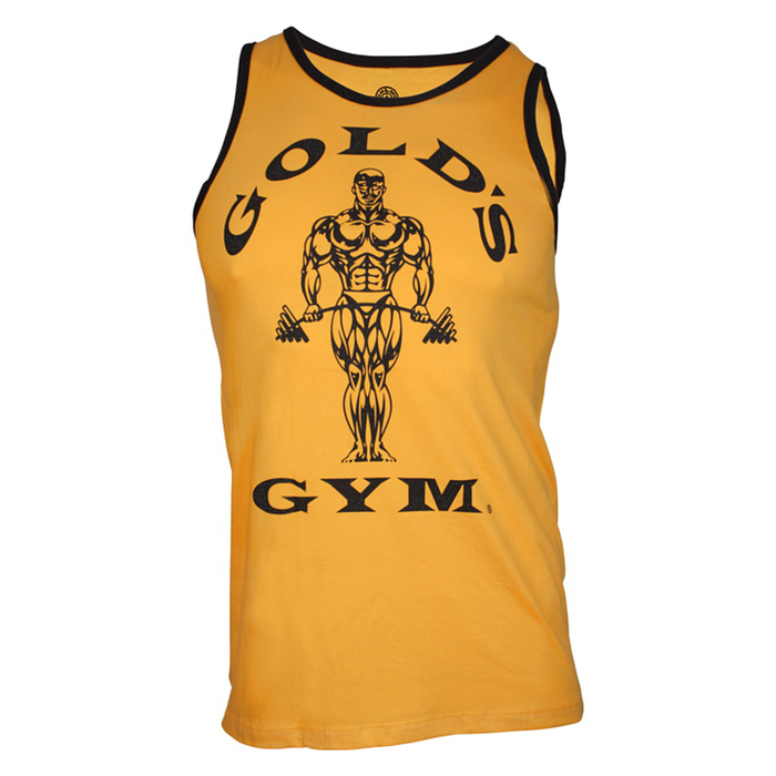 Golds Gym Muscle Joe Contrast Athlete Tank (Restposten)