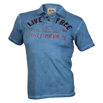 Olimp Live & Fight Mens Polo LIVE FREE