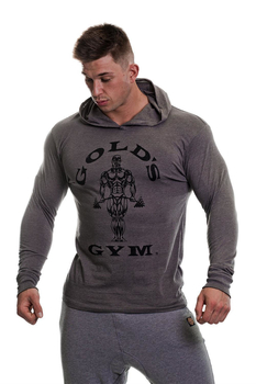 Golds Gym Muscle Joe Longsleeve Hoodie