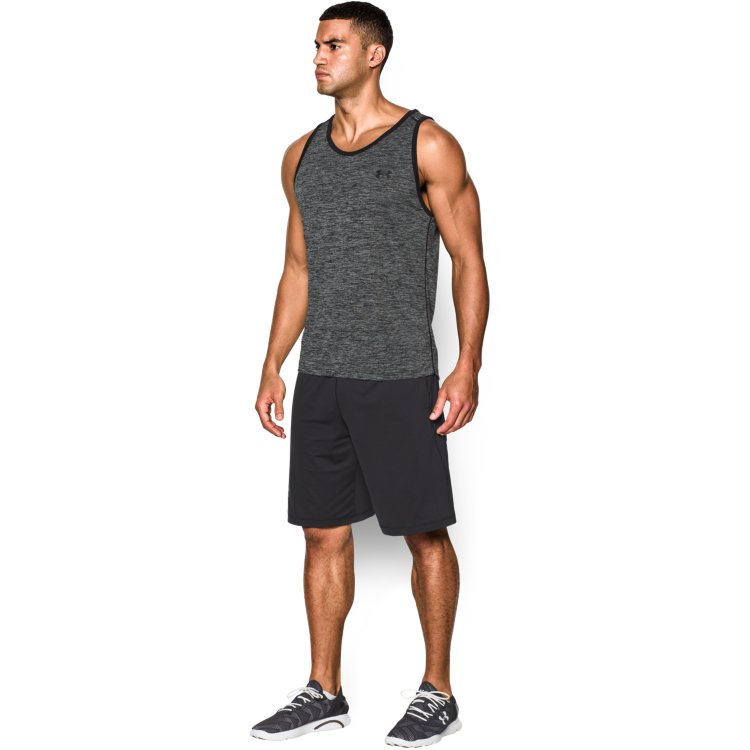 Under Armour 1242793 Men/'s Tank Top UA Tech Athletic Sleeveless Gym Training