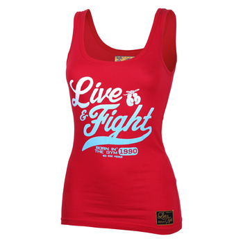 Olimp Live & Fight Lady´s Tank ORIGINAL 90 Red