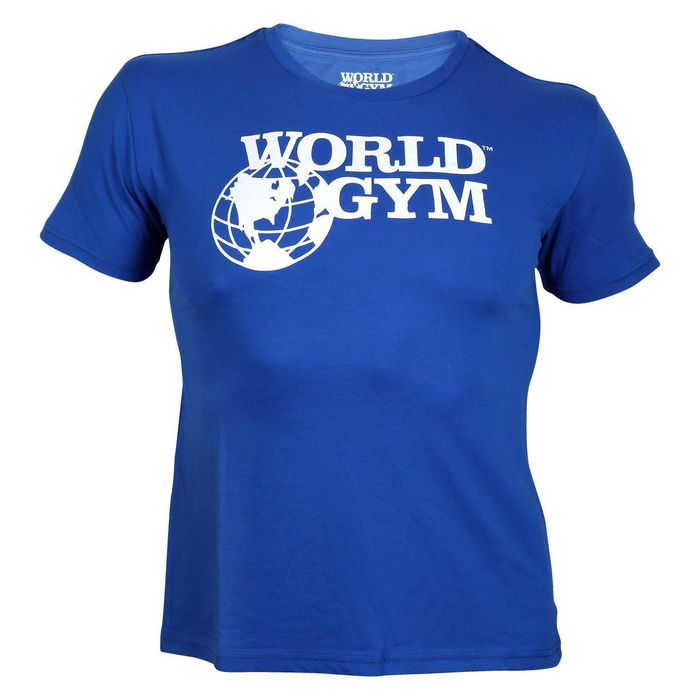 World Gym Basic T-Shirt blue
