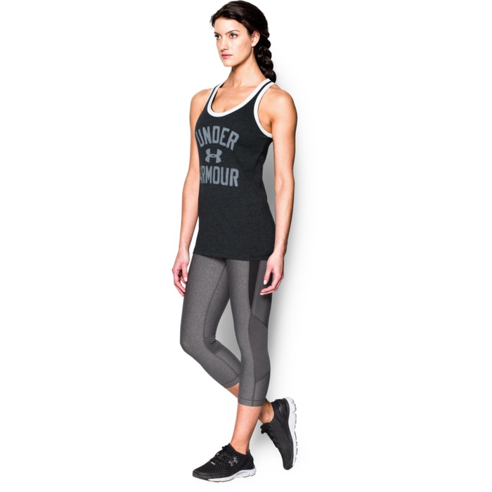 Under Armour Womens Favourite Graphic UNDER ARMOUR Tank - black