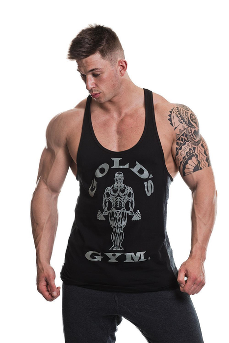 Golds Gym Muscle Joe Tonal Panel Stringer