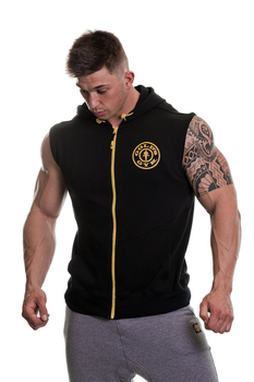 Golds Gym Logo Sleeveless Hoodie