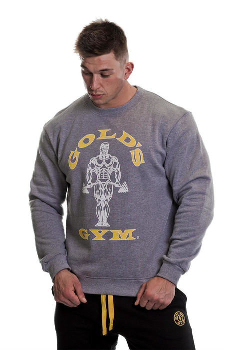 Golds Gym Muscle Joe Crew Neck Sweater (X)