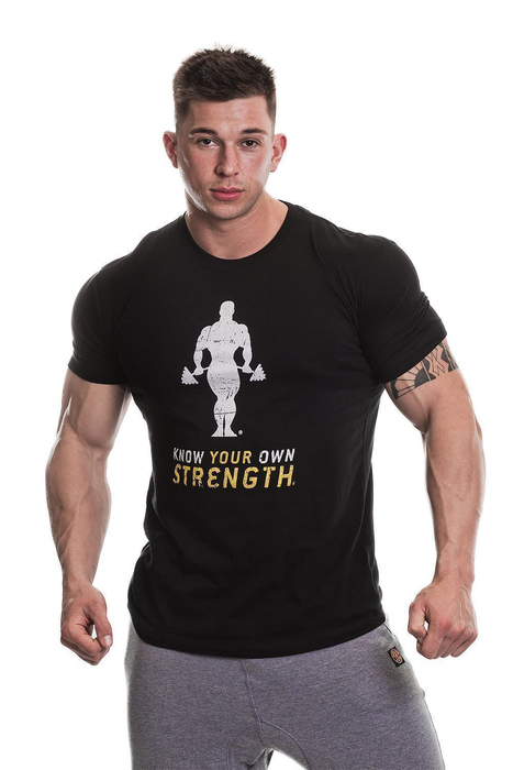 Golds Gym Premium Crew Neck T-Shirt (X)