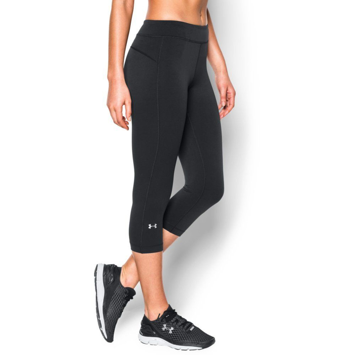 Under Armour HeatGear Armour Capri - black