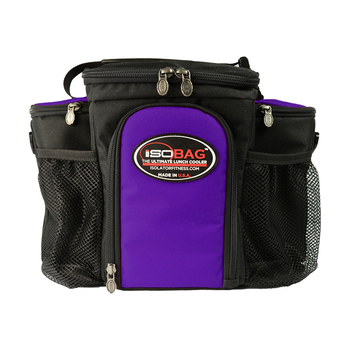 Isolator Fitness Case 3 Meal Isobag - black/purple