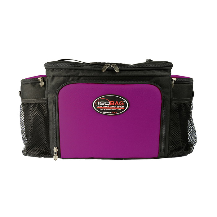 Isolator Fitness Case 6 Meal Isobag - black/fuchsia