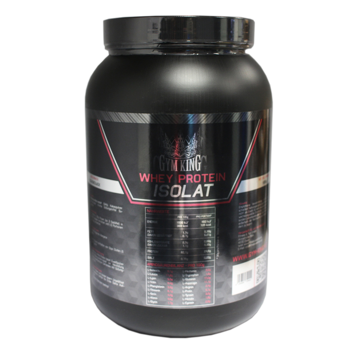 Gym King Whey Protein Isolat 1000g Dose