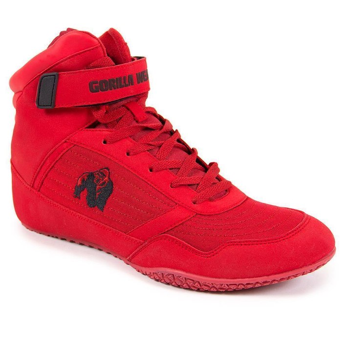 Gorilla Wear Shoes High Tops Red