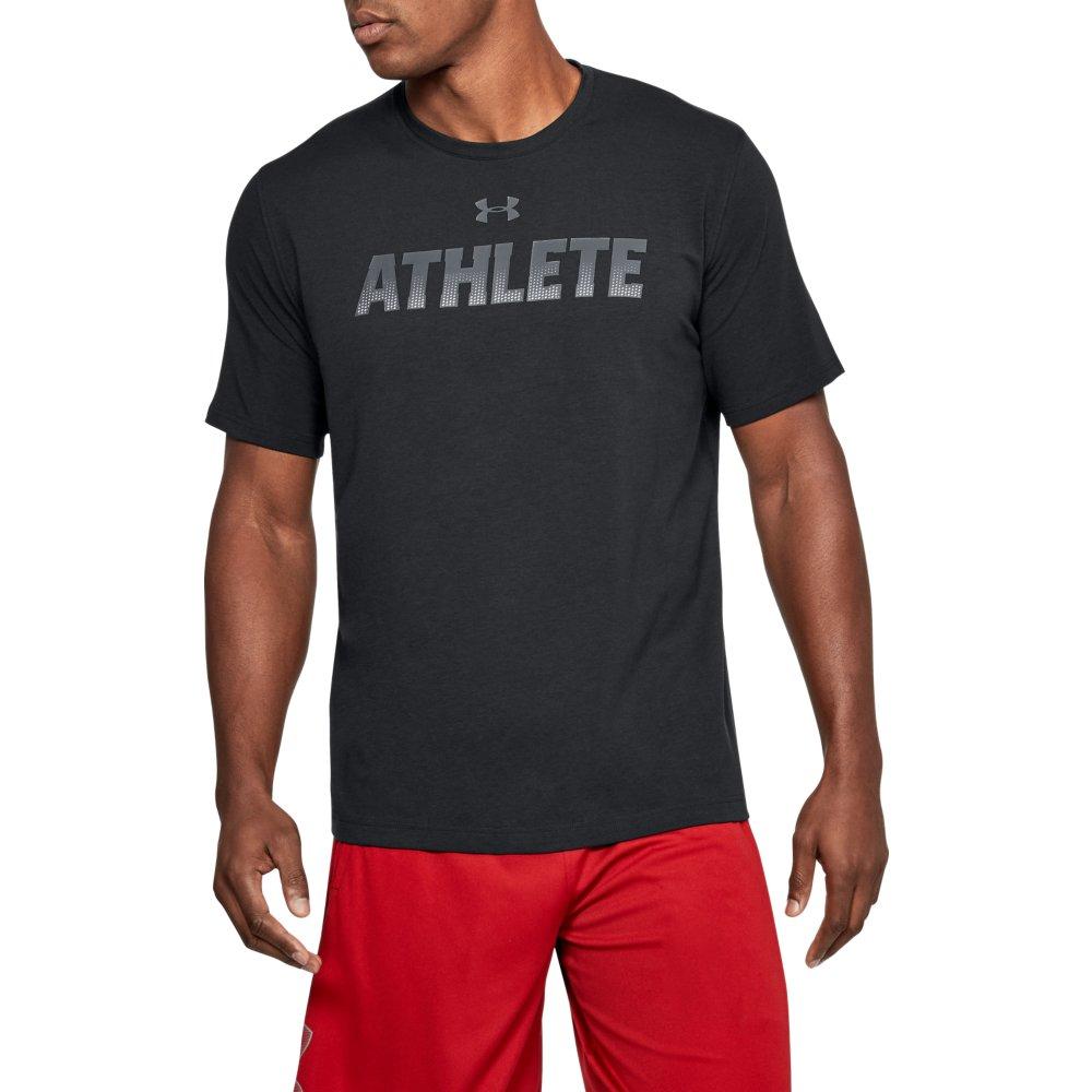 Under Armour Athlete Herren Sport Fitness T Shirt 25 90