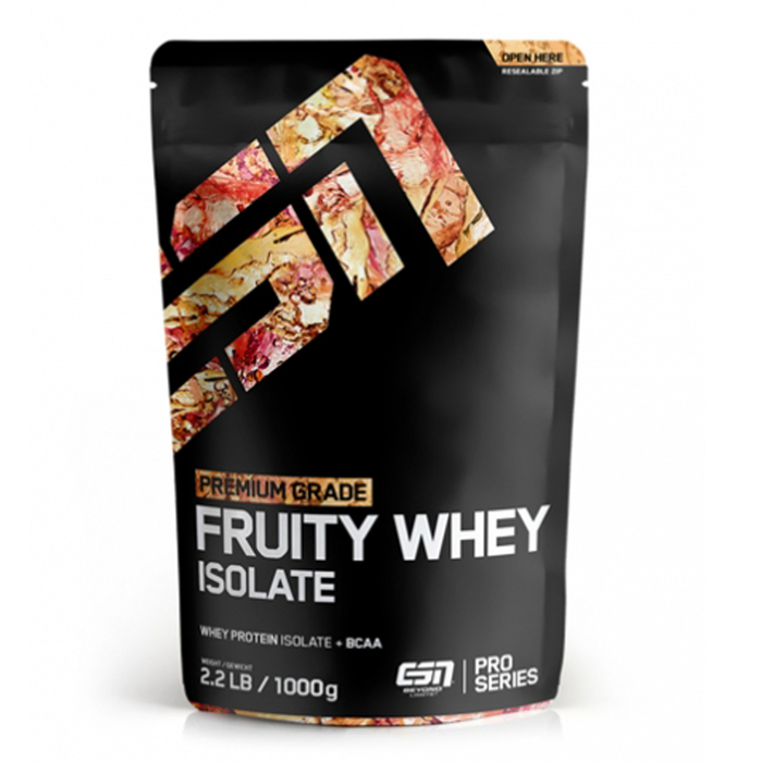 ESN Fruity Whey Isolate 1000g Beutel
