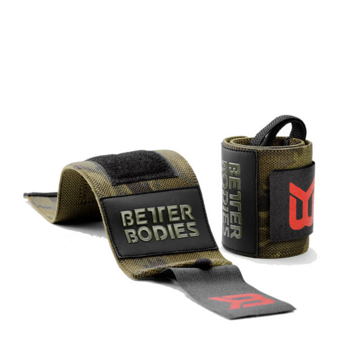 Better Bodies Camo Wrist Wraps 2018