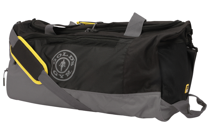 Golds Gym Contrast Travel Bag Kontrast Reisetasche