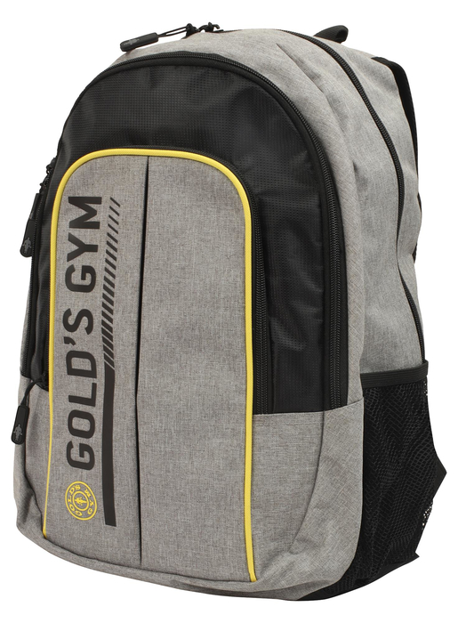 Golds Gym Contrast Backpack Rucksack