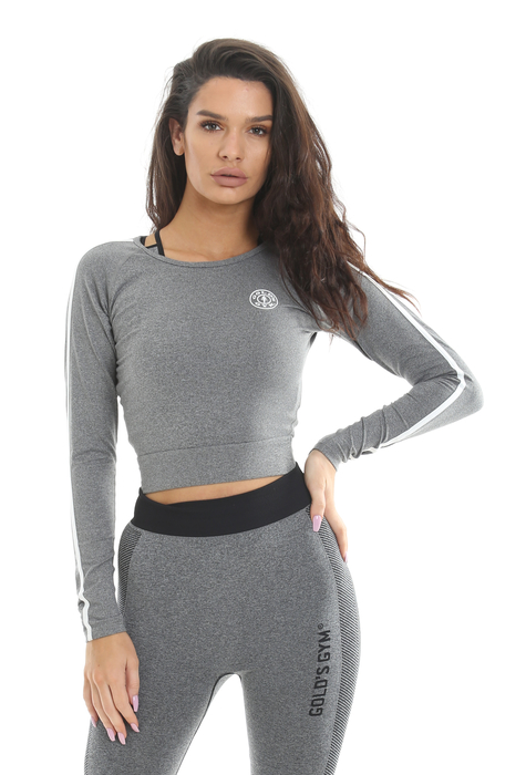 Golds Gym Ladies Cropped Sweater