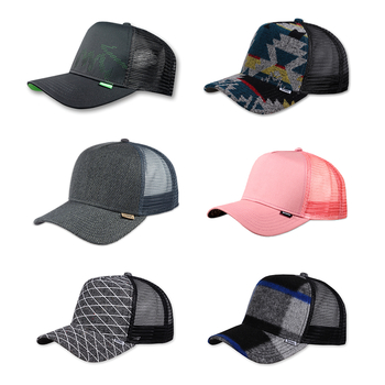 Restposten High Fitted Trucker Caps DJINNS