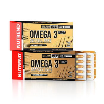 Nutrend Omega 3 Plus 120 Kapseln Packung