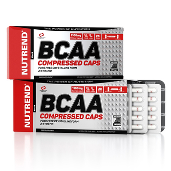 Nutrend BCAA Compressed Caps 120 Kapsel Packung