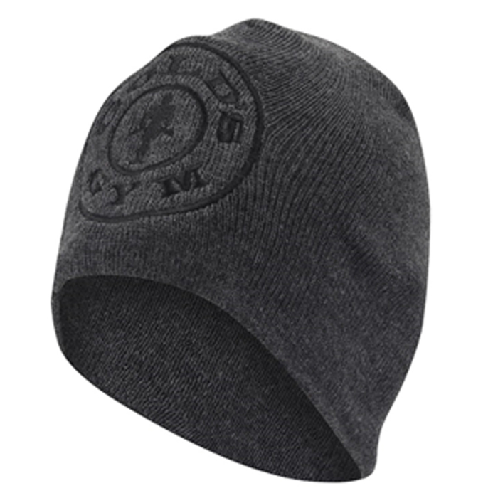 Golds Gym Beanie Charcoal