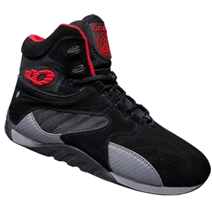 Otomix Ultimate Trainer - Black/Red Carbon Style Shoes Fitness Boxing