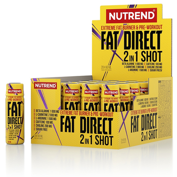 Nutrend Fat Direct Shot 20 x 60ml Ampulle