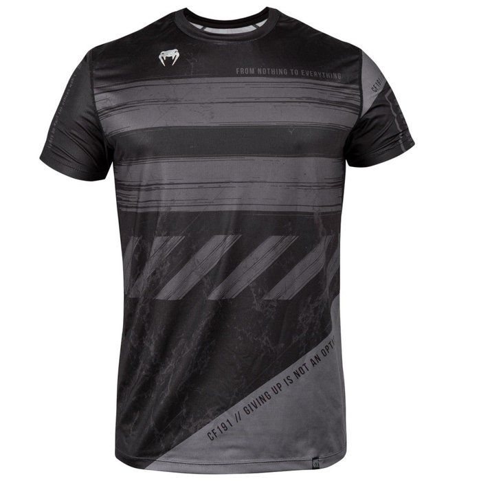 Venum AMRAP Dry Tech T-Shirt Black-Grey