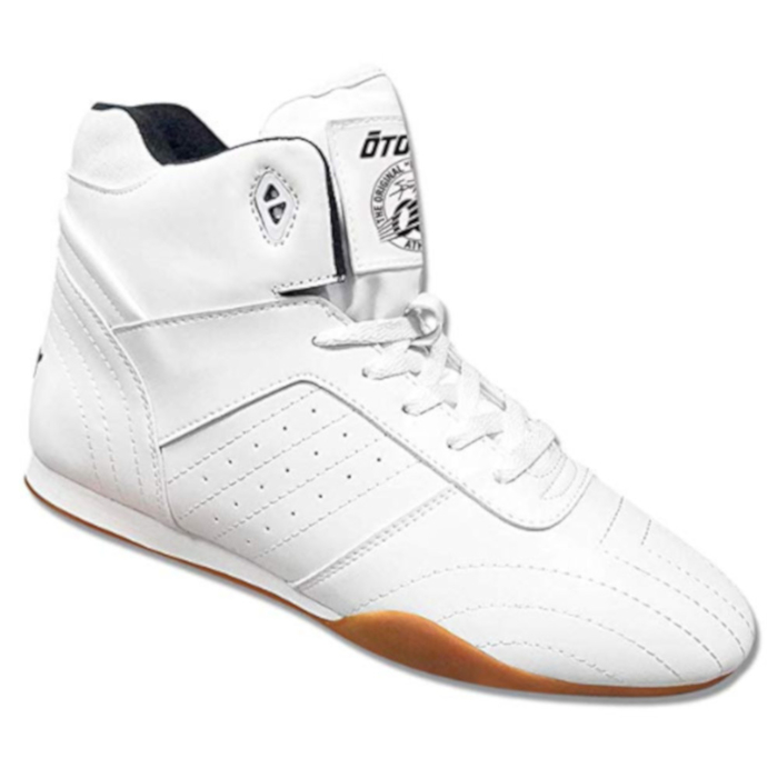 Otomix Classic Bodybuilding Weightlifting Shoe white