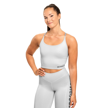 Better Bodies Vesey Strap Top Frost Grey