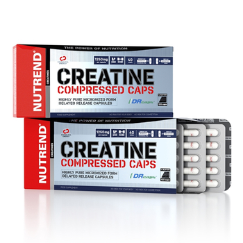 Nutrend Creatine Compressed Caps 120 Kapseln