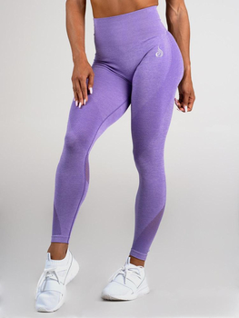 Ryderwear Seamless Tights Leggings Purple Marl