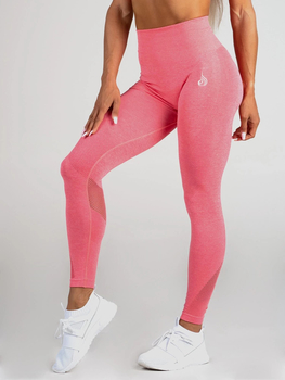 Ryderwear Seamless Tights Leggings Coral Marl