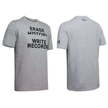 Under Armour Write Records Kurzarm Shirt Grau