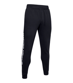 Under Armour Rival Fleece Wordmark Logo Jogginghose Black