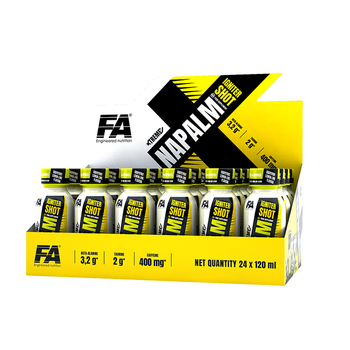 Fitness Authority Xtreme Napalm Igniter Shot 24 x 120ml Box