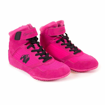 Gorilla Wear Shoes Womens High Tops Pink