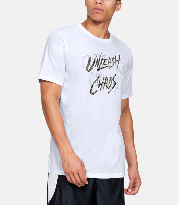 Under Armour Unleash Chaos T-Shirt White